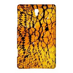 Yellow Chevron Zigzag Pattern Samsung Galaxy Tab S (8 4 ) Hardshell Case  by BangZart