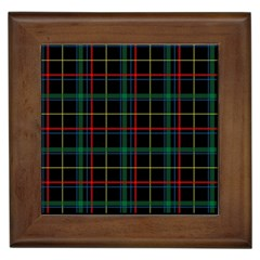 Tartan Plaid Pattern Framed Tiles