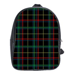 Tartan Plaid Pattern School Bags(large)  by BangZart