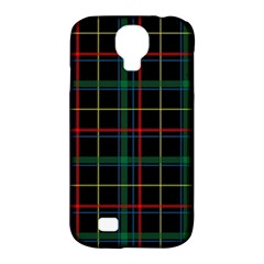 Tartan Plaid Pattern Samsung Galaxy S4 Classic Hardshell Case (pc+silicone) by BangZart