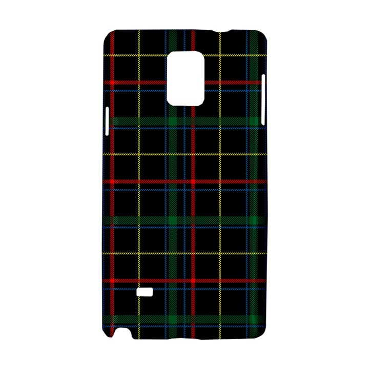 Tartan Plaid Pattern Samsung Galaxy Note 4 Hardshell Case