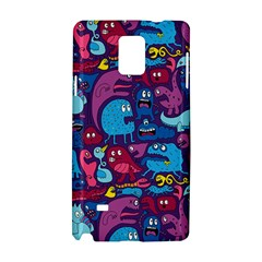 Hipster Pattern Animals And Tokyo Samsung Galaxy Note 4 Hardshell Case by BangZart