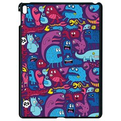 Hipster Pattern Animals And Tokyo Apple Ipad Pro 9 7   Black Seamless Case by BangZart