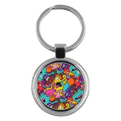 Monster Patterns Key Chains (round)  by BangZart