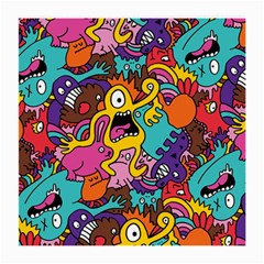 Monster Patterns Medium Glasses Cloth by BangZart