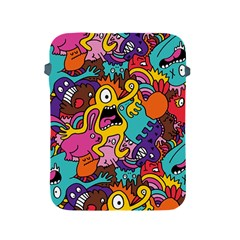 Monster Patterns Apple Ipad 2/3/4 Protective Soft Cases by BangZart