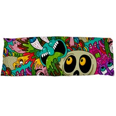 Crazy Illustrations & Funky Monster Pattern Body Pillow Case Dakimakura (two Sides) by BangZart