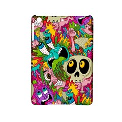 Crazy Illustrations & Funky Monster Pattern Ipad Mini 2 Hardshell Cases by BangZart