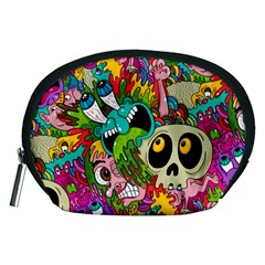 Crazy Illustrations & Funky Monster Pattern Accessory Pouches (medium)  by BangZart