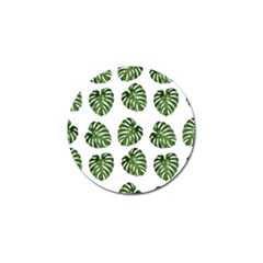 Leaf Pattern Seamless Background Golf Ball Marker (4 Pack) by BangZart