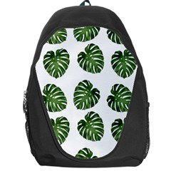 Leaf Pattern Seamless Background Backpack Bag by BangZart