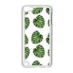 Leaf Pattern Seamless Background Apple Ipod Touch 5 Case (white) by BangZart