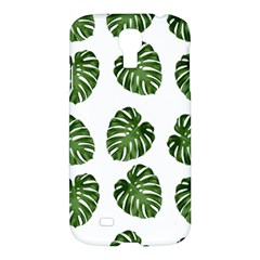 Leaf Pattern Seamless Background Samsung Galaxy S4 I9500/i9505 Hardshell Case by BangZart