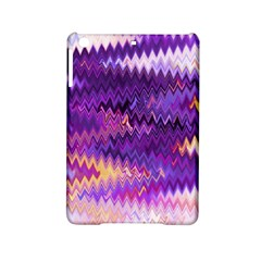 Purple And Yellow Zig Zag Ipad Mini 2 Hardshell Cases by BangZart