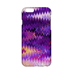 Purple And Yellow Zig Zag Apple Iphone 6/6s Hardshell Case by BangZart