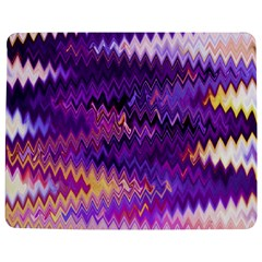 Purple And Yellow Zig Zag Jigsaw Puzzle Photo Stand (rectangular) by BangZart