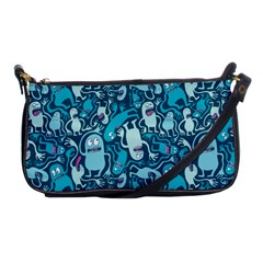 Monster Pattern Shoulder Clutch Bags by BangZart