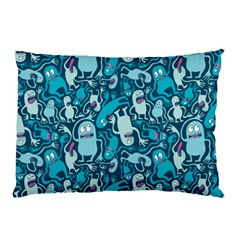 Monster Pattern Pillow Case (two Sides) by BangZart