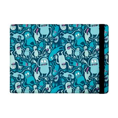 Monster Pattern Apple Ipad Mini Flip Case by BangZart