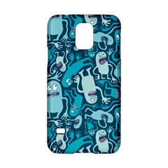 Monster Pattern Samsung Galaxy S5 Hardshell Case  by BangZart