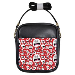 Another Monster Pattern Girls Sling Bags by BangZart