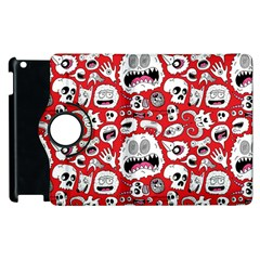 Another Monster Pattern Apple Ipad 3/4 Flip 360 Case by BangZart