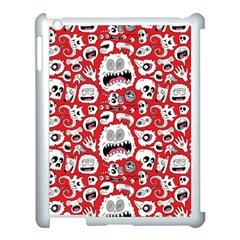 Another Monster Pattern Apple Ipad 3/4 Case (white) by BangZart