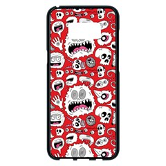 Another Monster Pattern Samsung Galaxy S8 Plus Black Seamless Case by BangZart