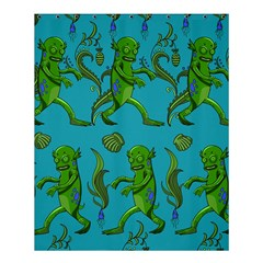 Swamp Monster Pattern Shower Curtain 60  X 72  (medium)  by BangZart