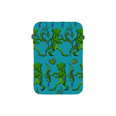 Swamp Monster Pattern Apple Ipad Mini Protective Soft Cases by BangZart