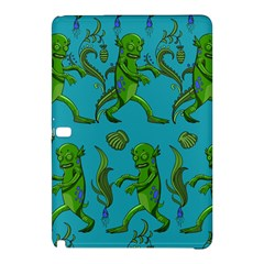 Swamp Monster Pattern Samsung Galaxy Tab Pro 12 2 Hardshell Case by BangZart