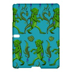 Swamp Monster Pattern Samsung Galaxy Tab S (10 5 ) Hardshell Case  by BangZart