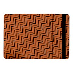 Brown Zig Zag Background Samsung Galaxy Tab Pro 10 1  Flip Case by BangZart