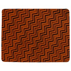 Brown Zig Zag Background Jigsaw Puzzle Photo Stand (rectangular) by BangZart
