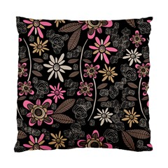 Flower Art Pattern Standard Cushion Case (two Sides) by BangZart
