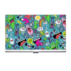 Monster Party Pattern Business Card Holders by BangZart