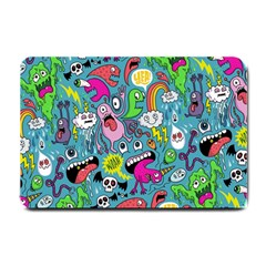 Monster Party Pattern Small Doormat  by BangZart
