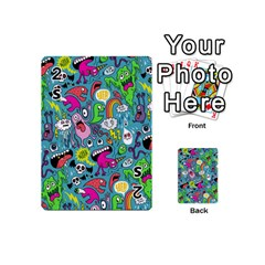 Monster Party Pattern Playing Cards 54 (mini)  by BangZart