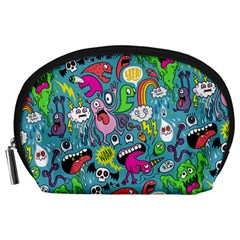 Monster Party Pattern Accessory Pouches (large)  by BangZart