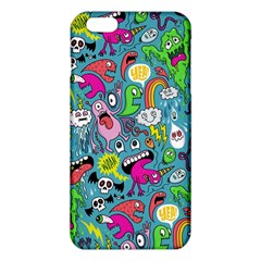 Monster Party Pattern Iphone 6 Plus/6s Plus Tpu Case by BangZart