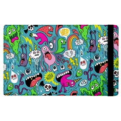 Monster Party Pattern Apple Ipad Pro 12 9   Flip Case by BangZart