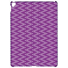Zig Zag Background Purple Apple Ipad Pro 12 9   Hardshell Case