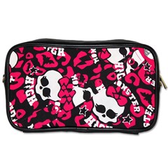 Mattel Monster Pattern Toiletries Bags 2 Side by BangZart