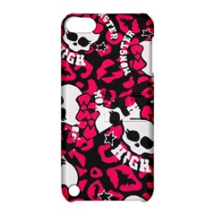 Mattel Monster Pattern Apple Ipod Touch 5 Hardshell Case With Stand by BangZart