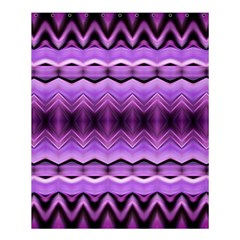 Purple Pink Zig Zag Pattern Shower Curtain 60  X 72  (medium)  by BangZart