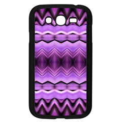 Purple Pink Zig Zag Pattern Samsung Galaxy Grand Duos I9082 Case (black) by BangZart
