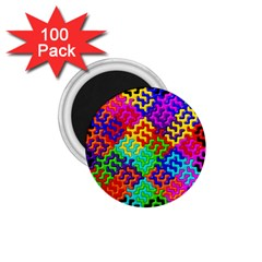 3d Fsm Tessellation Pattern 1 75  Magnets (100 Pack)