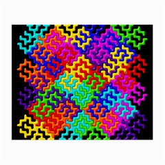 3d Fsm Tessellation Pattern Small Glasses Cloth