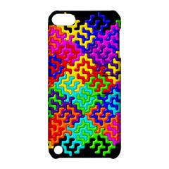 3d Fsm Tessellation Pattern Apple Ipod Touch 5 Hardshell Case With Stand by BangZart