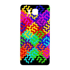 3d Fsm Tessellation Pattern Samsung Galaxy Alpha Hardshell Back Case by BangZart